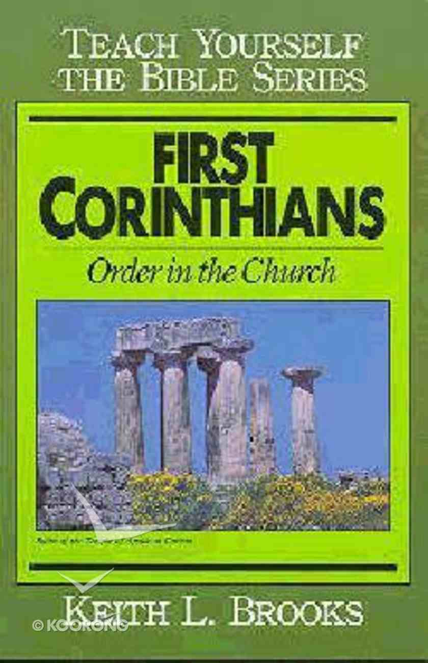 First Corinthians (Teach Yourself The Bible Series) Paperback