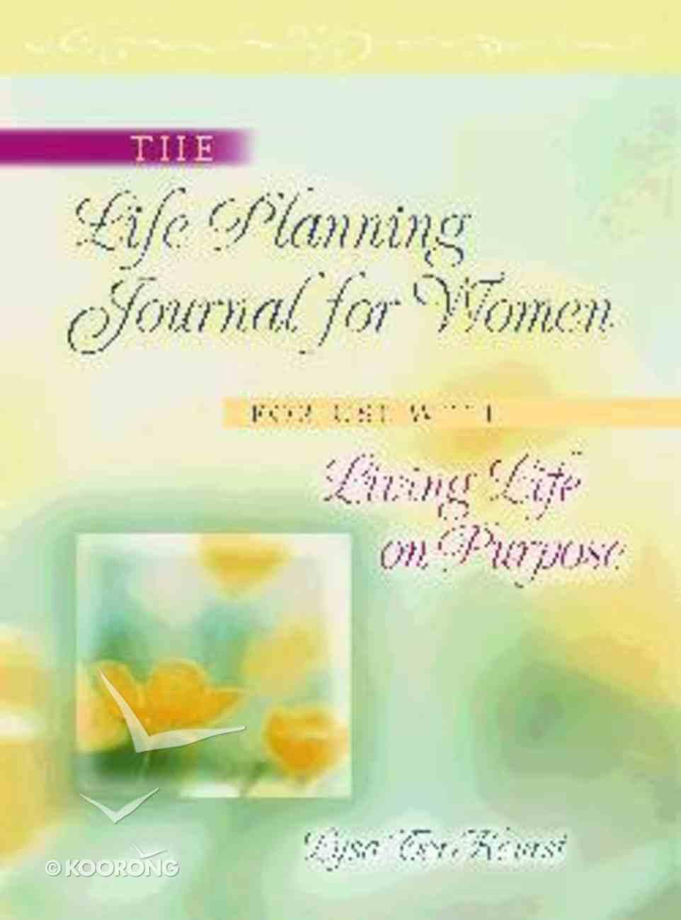 Life Planning Journal For Women Paperback