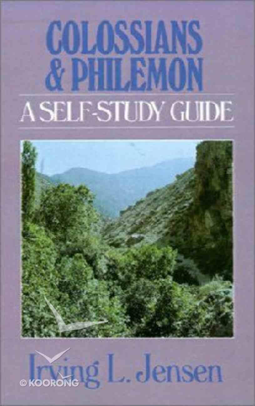 Self Study Guide Colossians & Philemon (Self-study Guide Series) Paperback