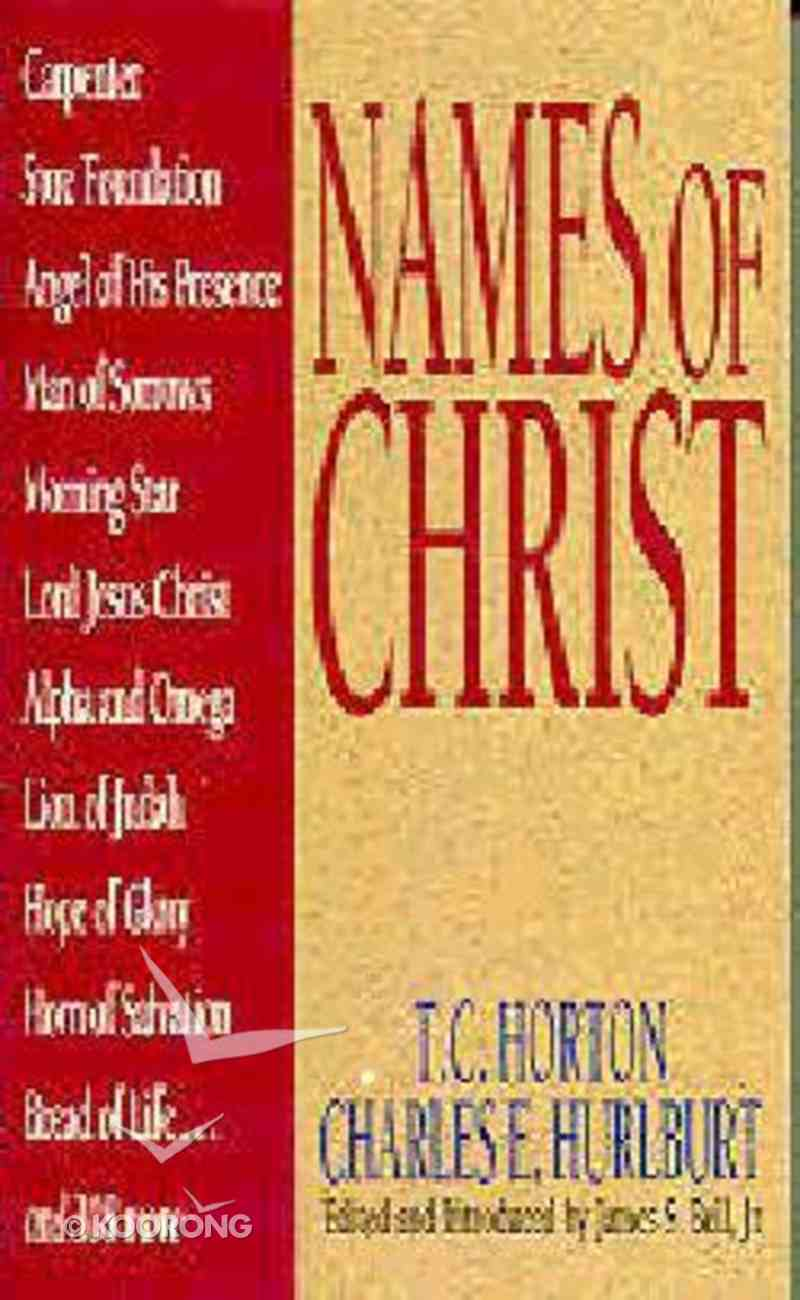 Names of Christ Paperback