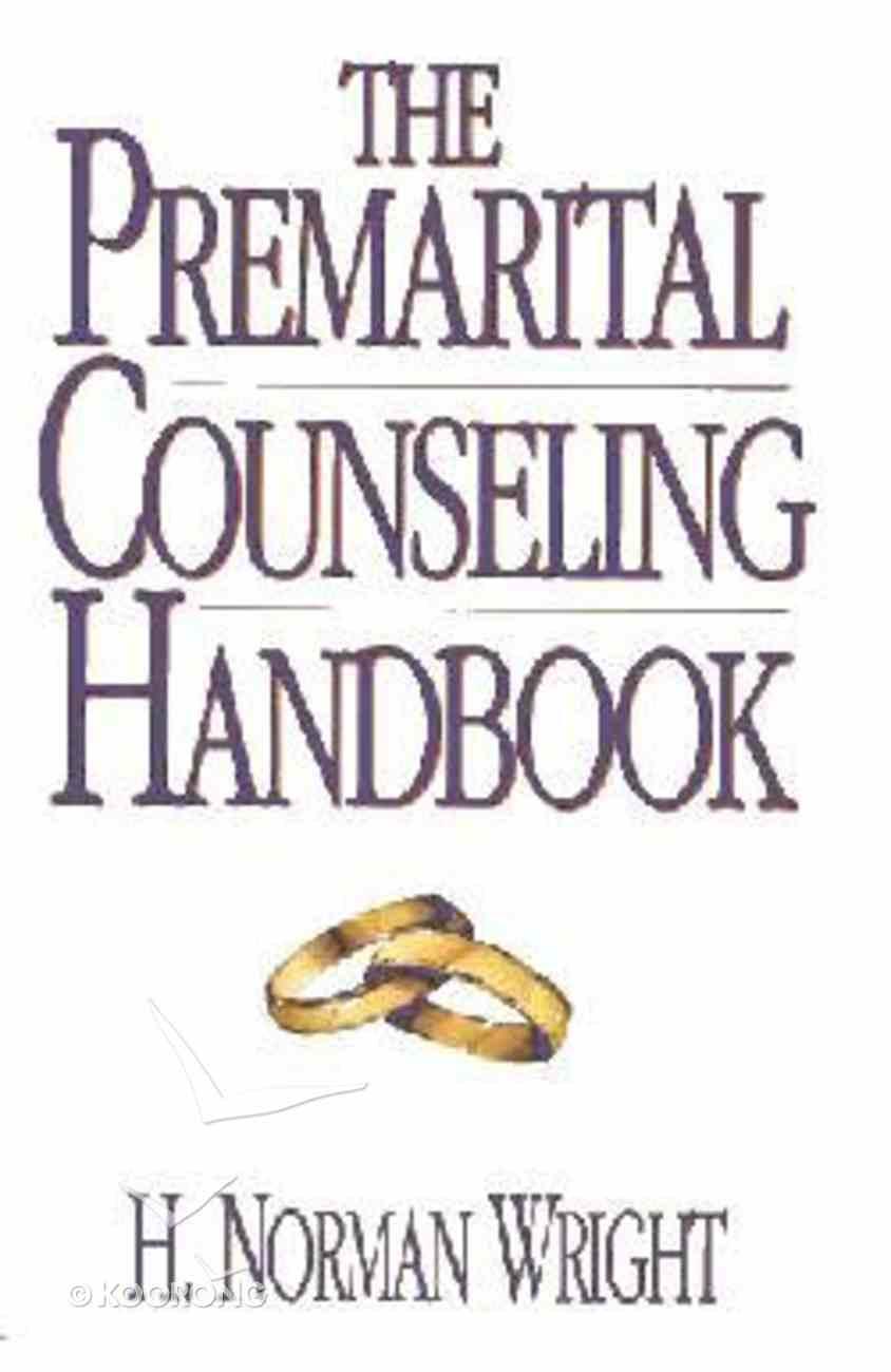 Premarital Counseling Handbook Hardback