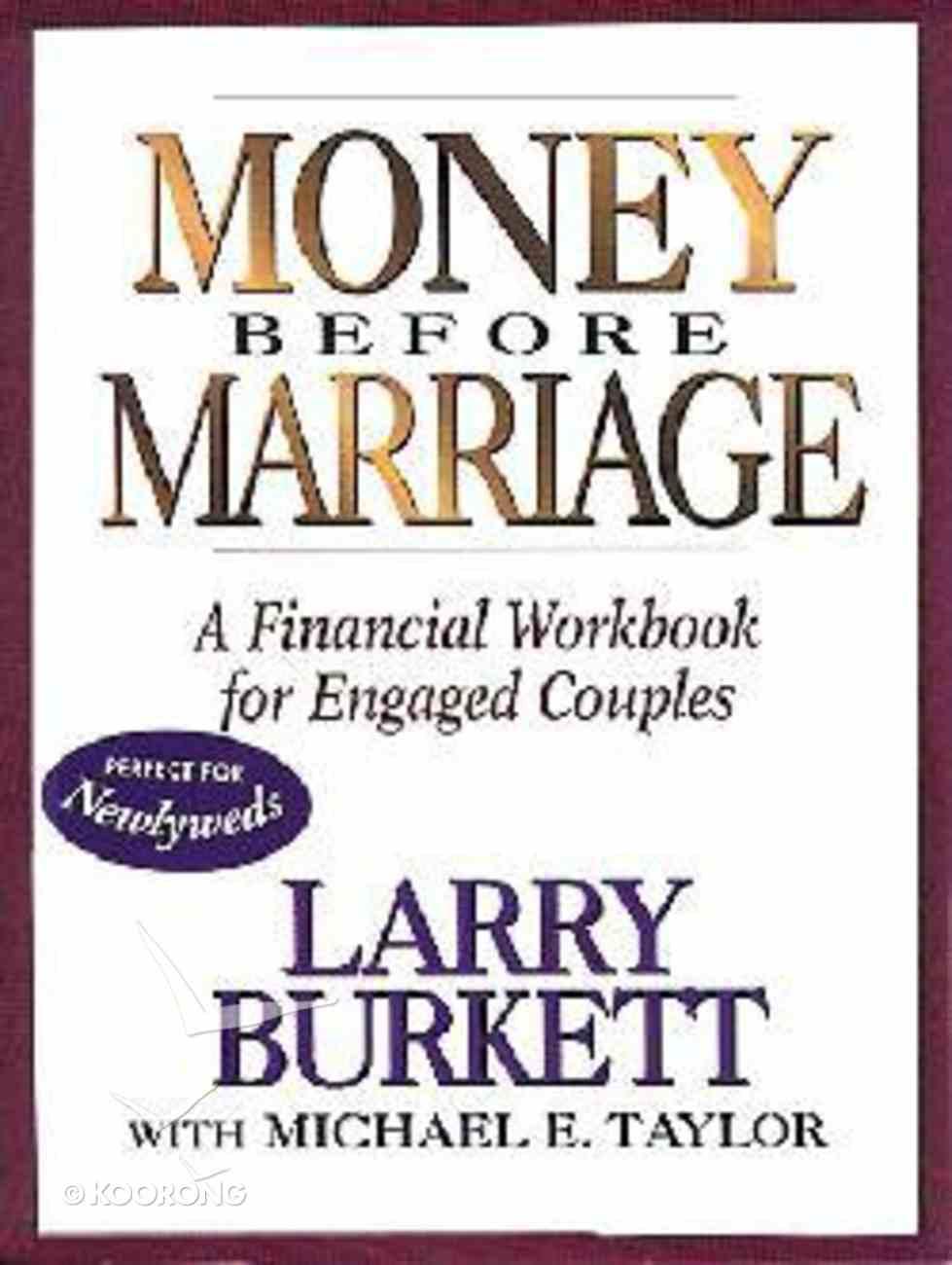 Money Before Marriage Workbook Paperback