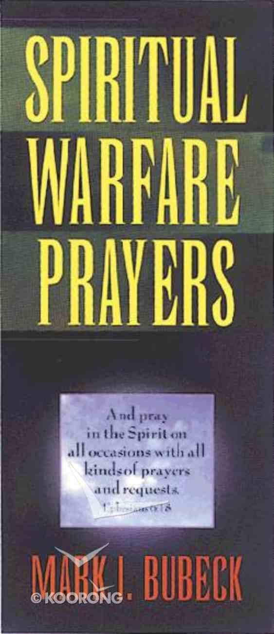 Spiritual Warfare Prayers Paperback