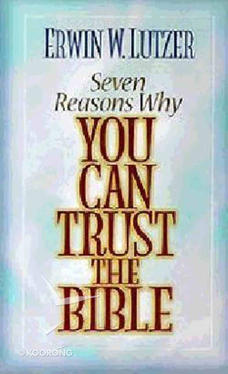 Seven Reasons Why You Can Trust the Bible (Set With Book) Hardback