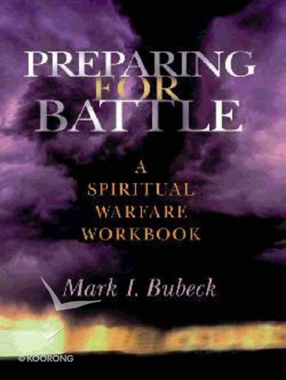 Preparing For Battle Paperback