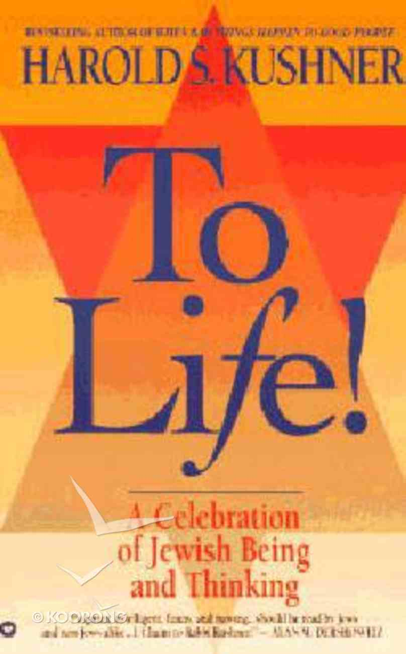 To Life! (Large Print) Paperback