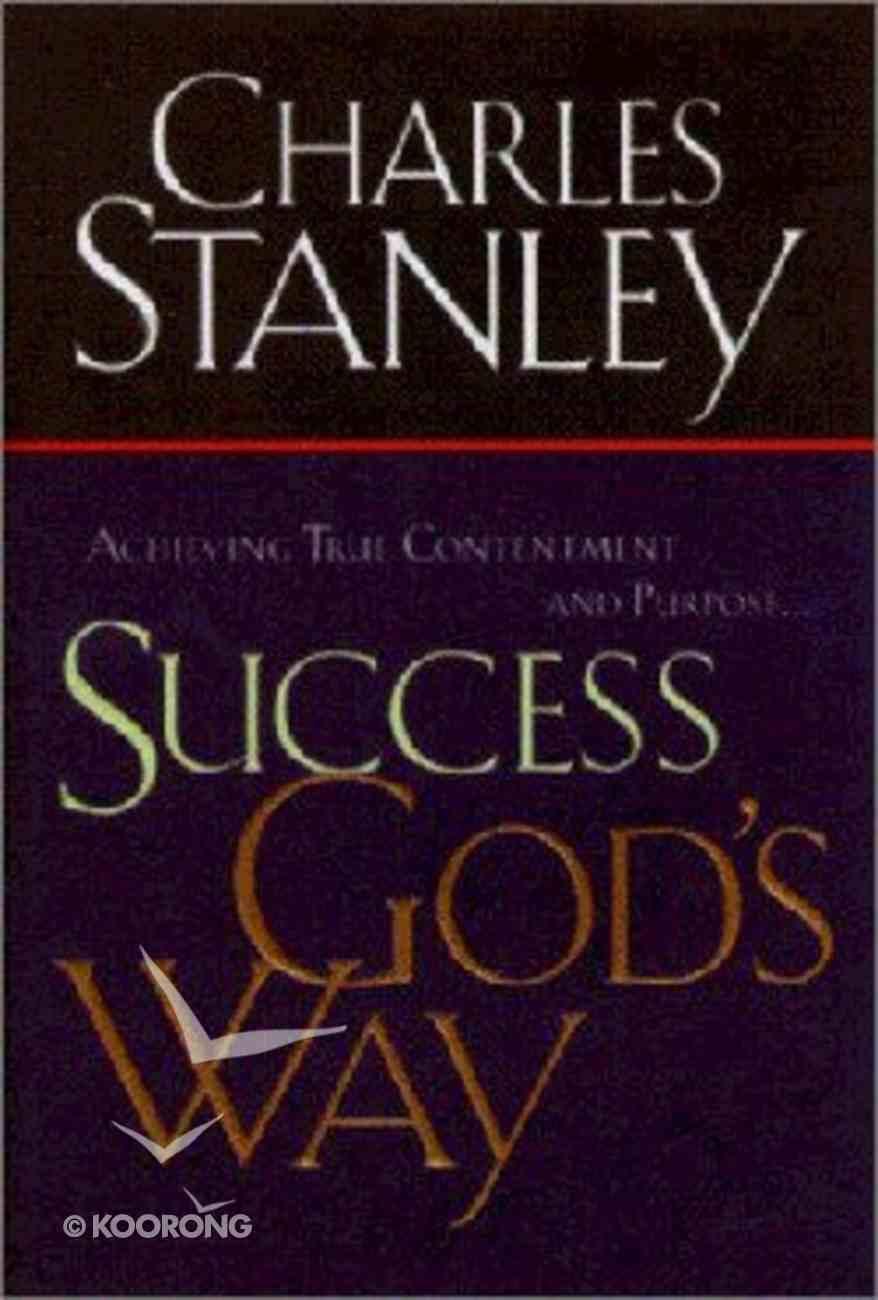 Success God's Way (Large Print) Paperback