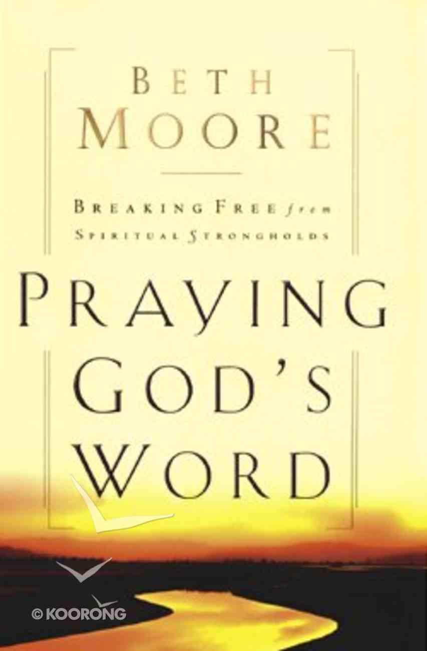 Praying God's Word (Large Print) Paperback
