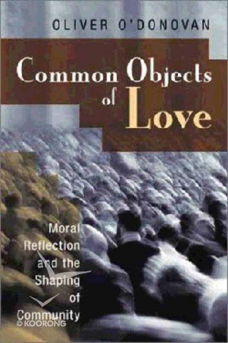 Common Objects of Love Hardback