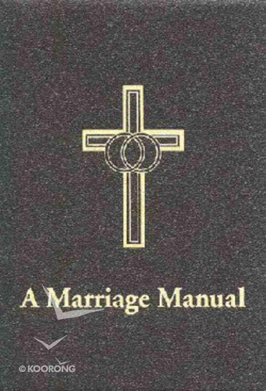 Marriage Manual Paperback