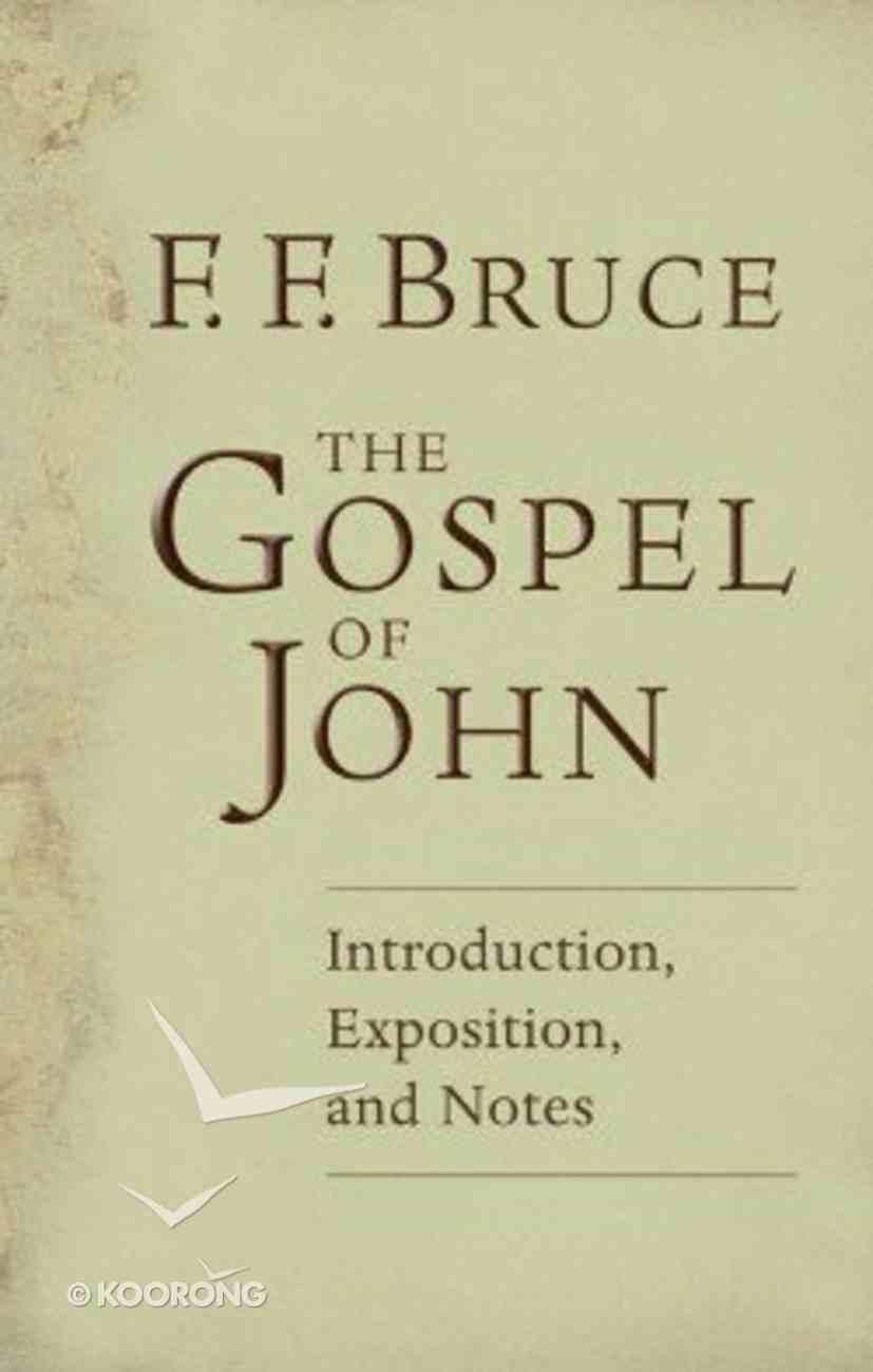 The Gospel of John Paperback