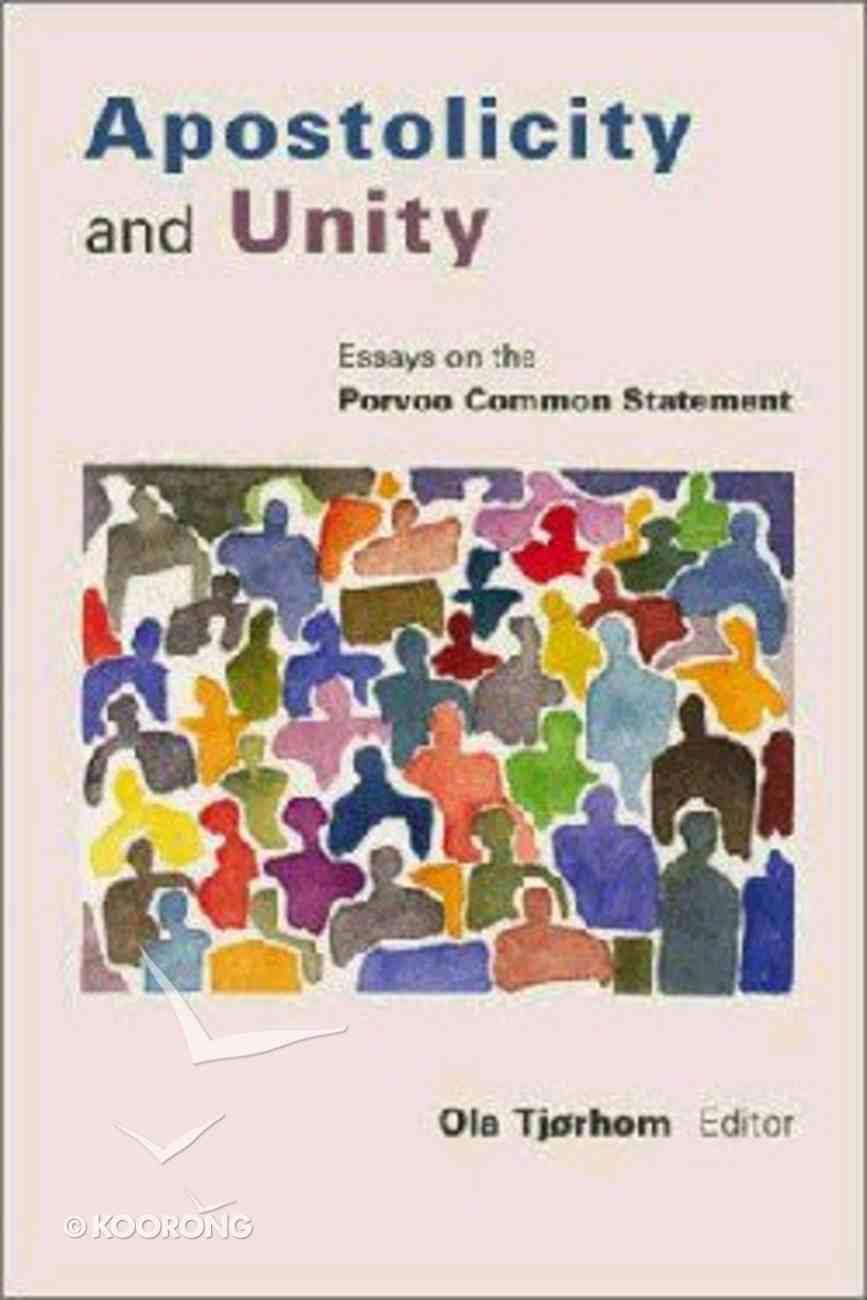 Apostolicity and Unity Paperback