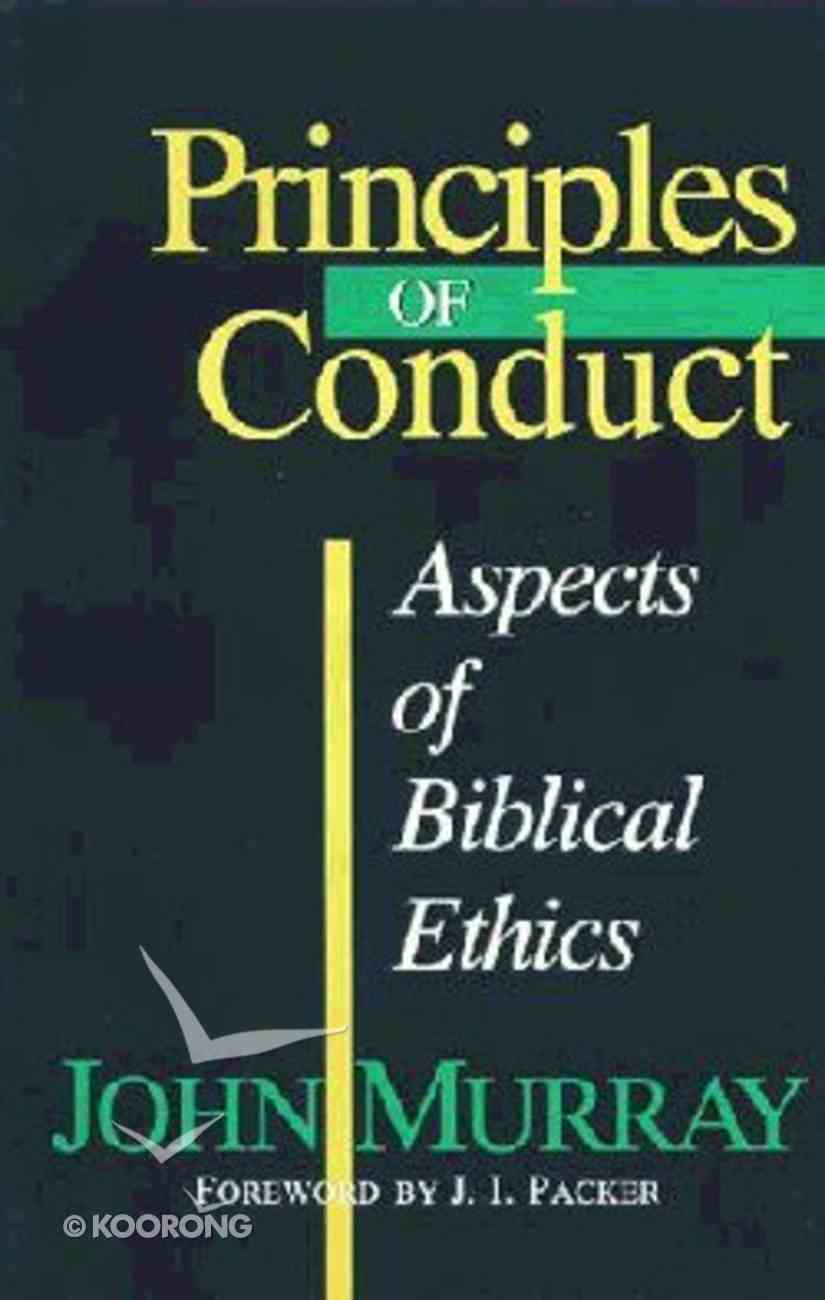 Principles of Conduct Paperback