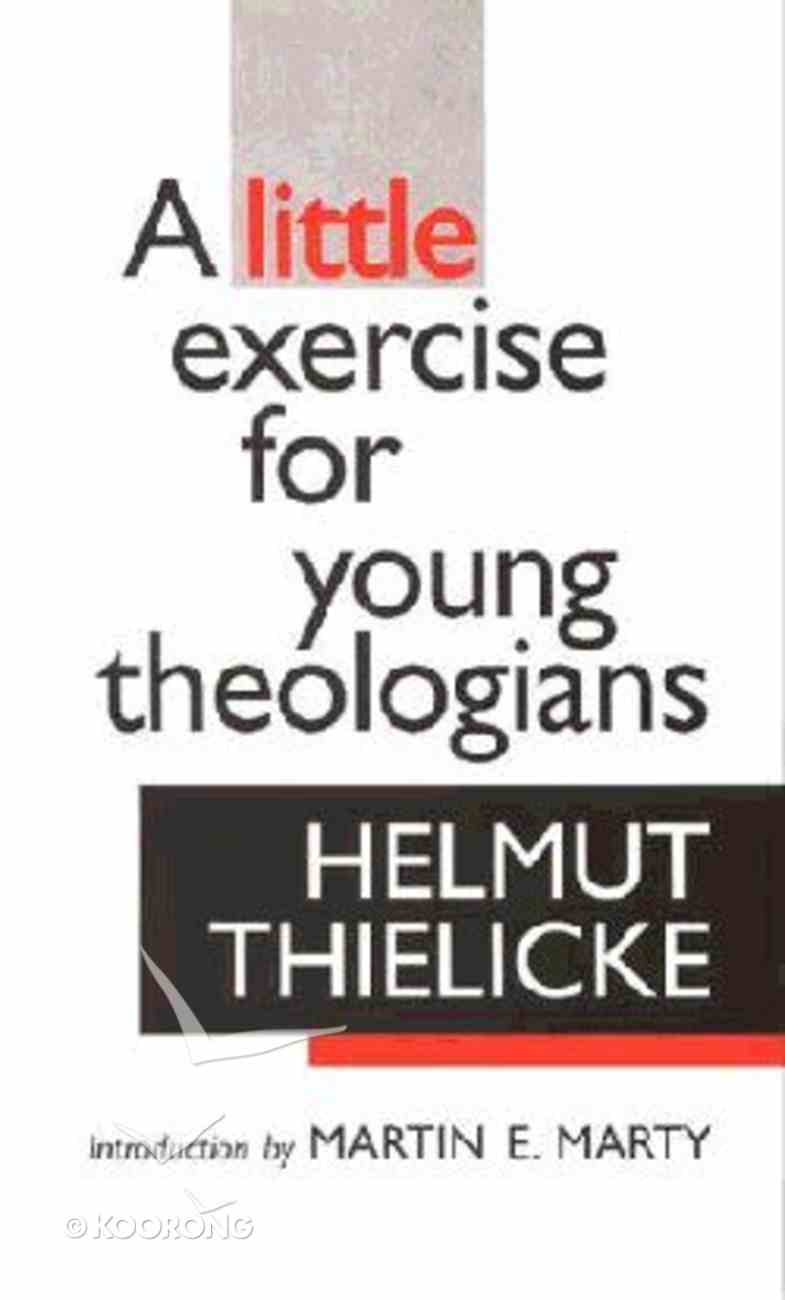 Exercise For Young Theologians Paperback