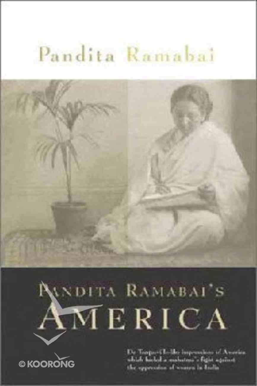 Pandita Ramabai's America Hardback