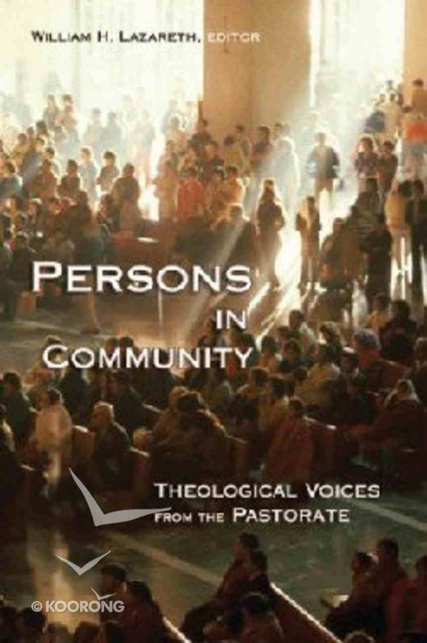 Persons in Community Paperback