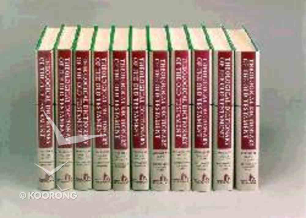 Theological Dictionary of the Old Testament (12 Volume Set) (Theological Dictionary Of The Old Testament Series) Hardback
