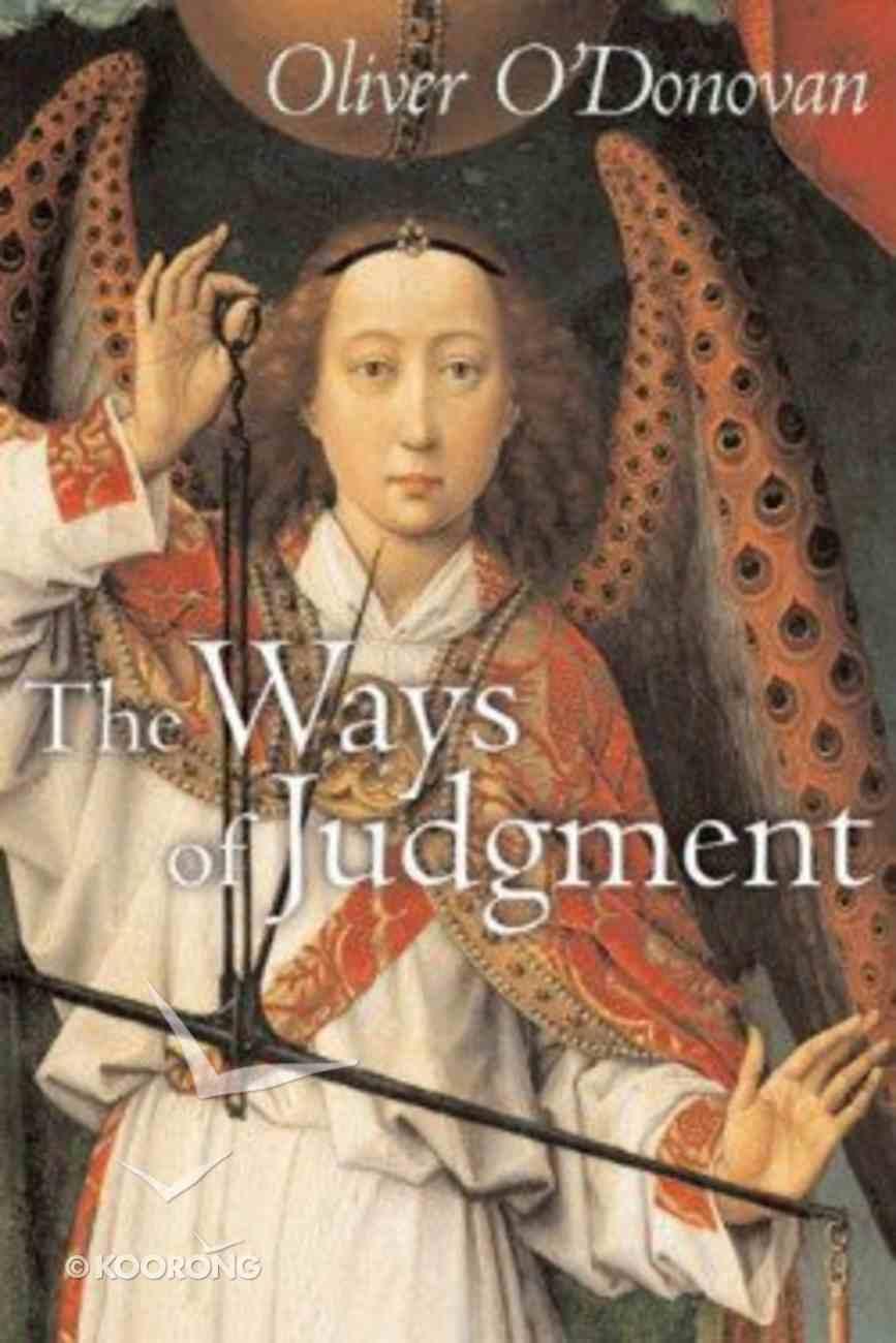 The Ways of Judgment Hardback