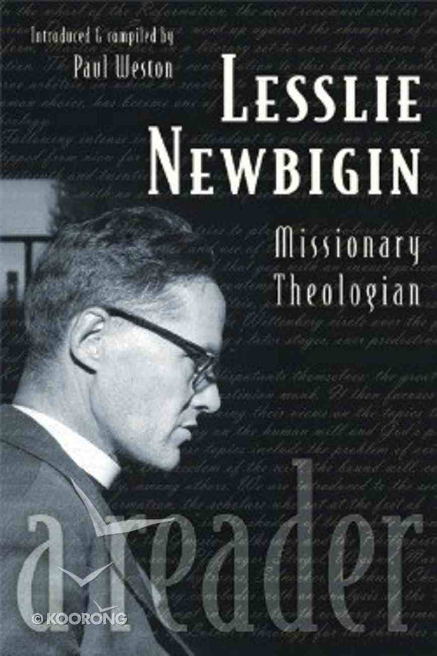 Lesslie Newbigin Paperback