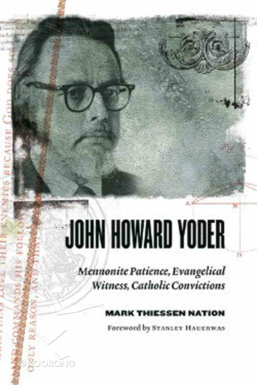 John Howard Yoder Paperback