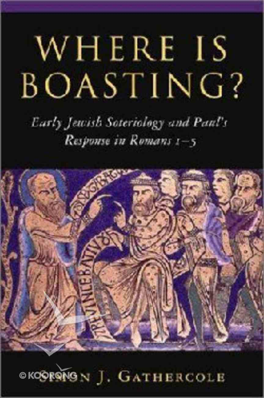 Where is Boasting? Paperback
