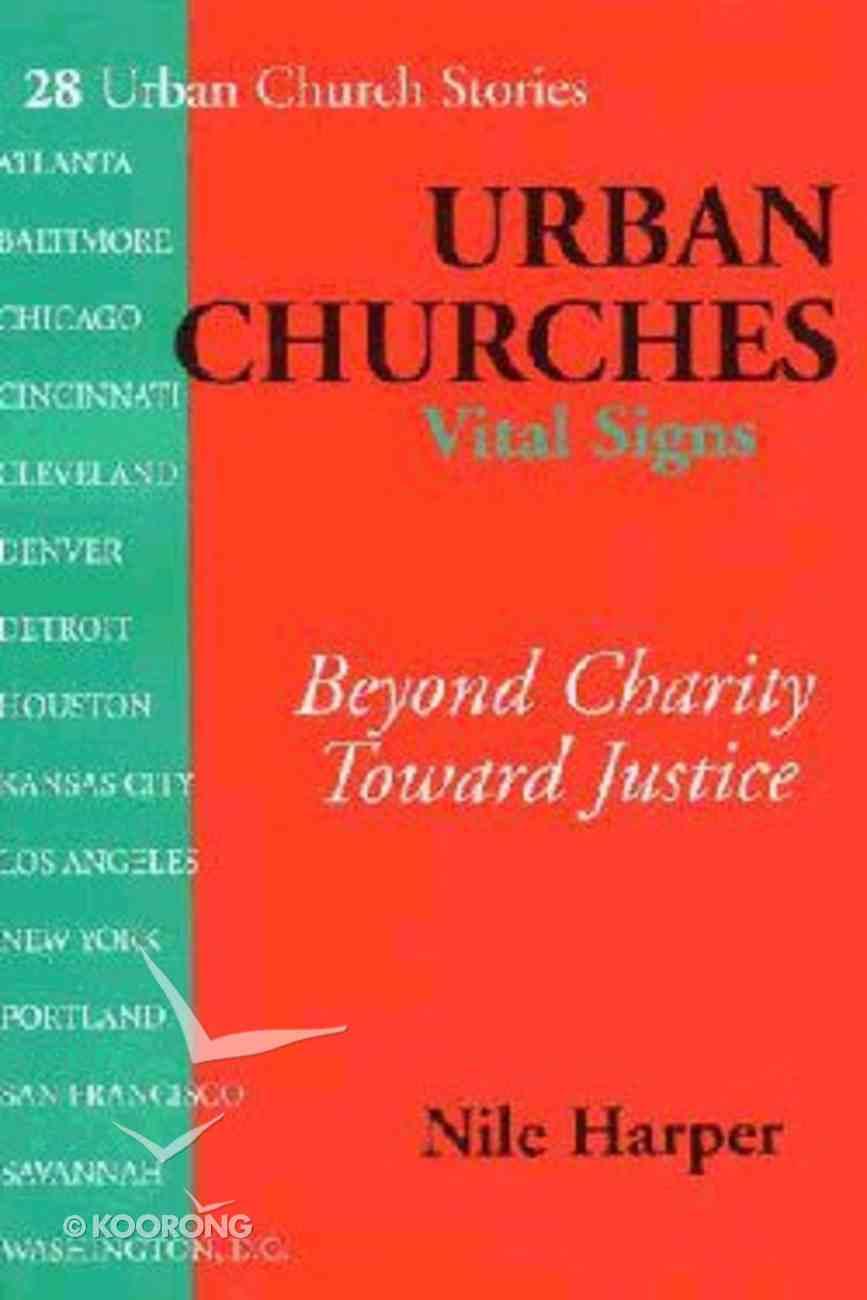 Urban Churches Vital Signs Paperback
