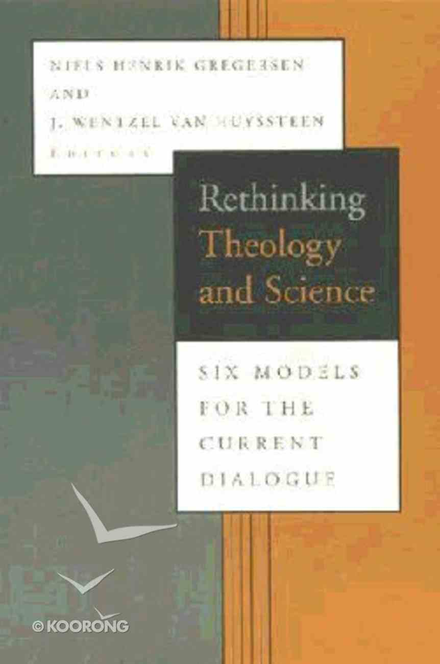 Rethinking Theology and Science Paperback