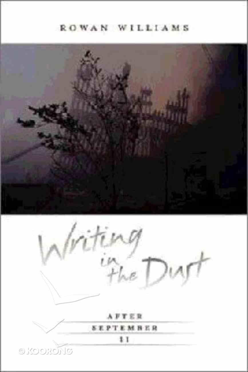Writing in the Dust Hardback