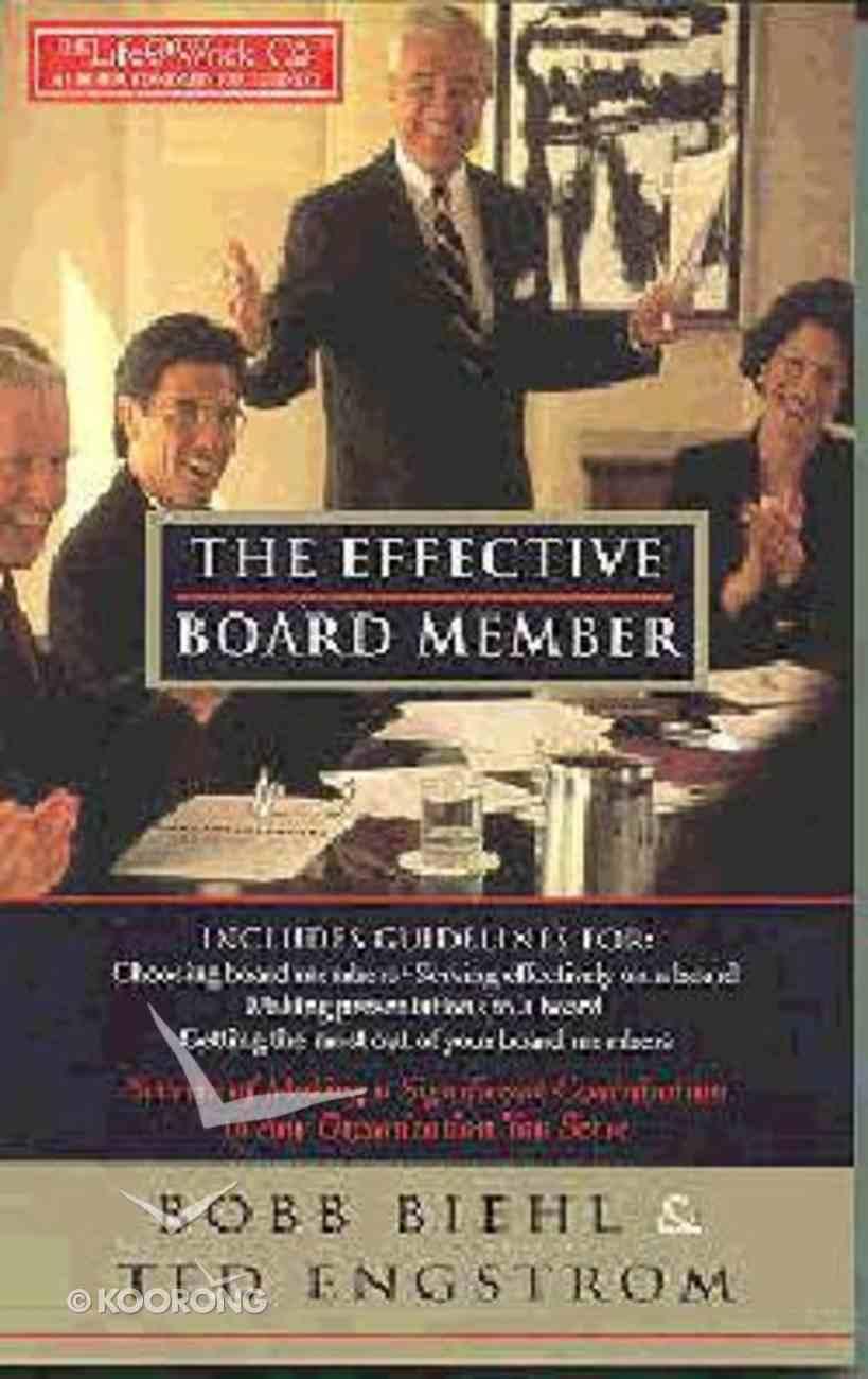 The Effective Board Member Paperback