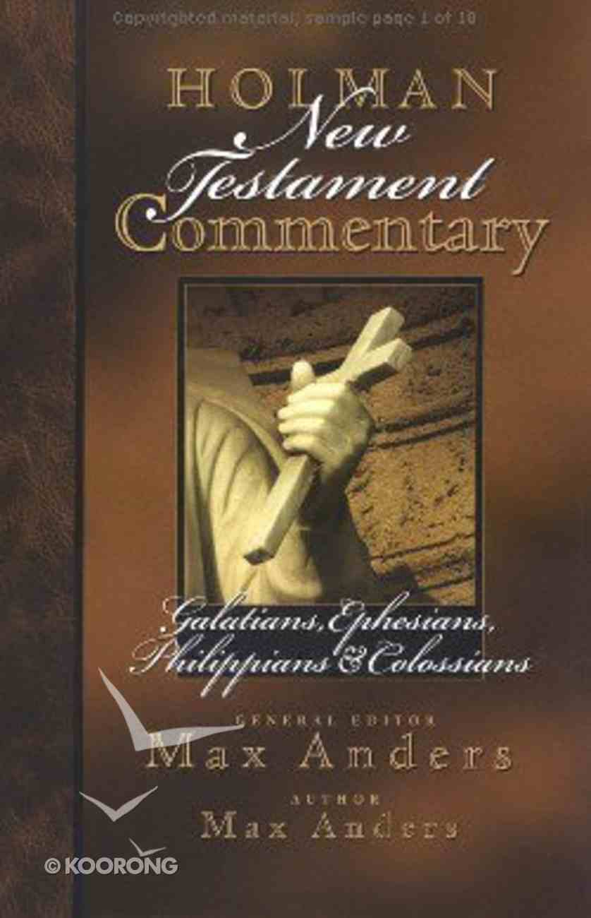 Galatians-Colossians (#08 in Holman New Testament Commentary Series) Hardback