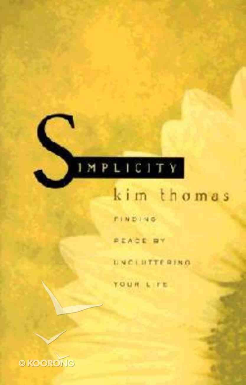 Simplicity Paperback