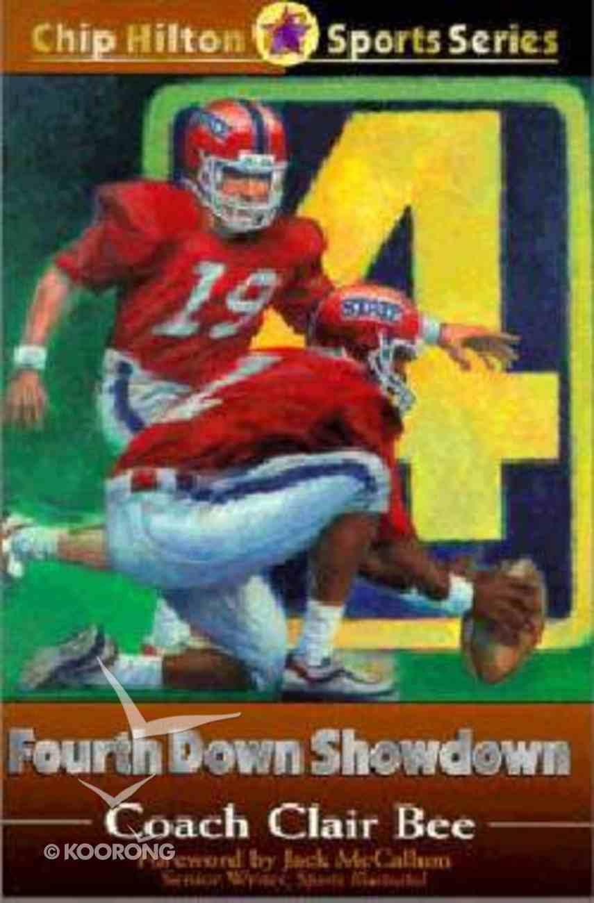 Fourth Down Showdown (#13 in Chip Hilton Sports Series) Paperback