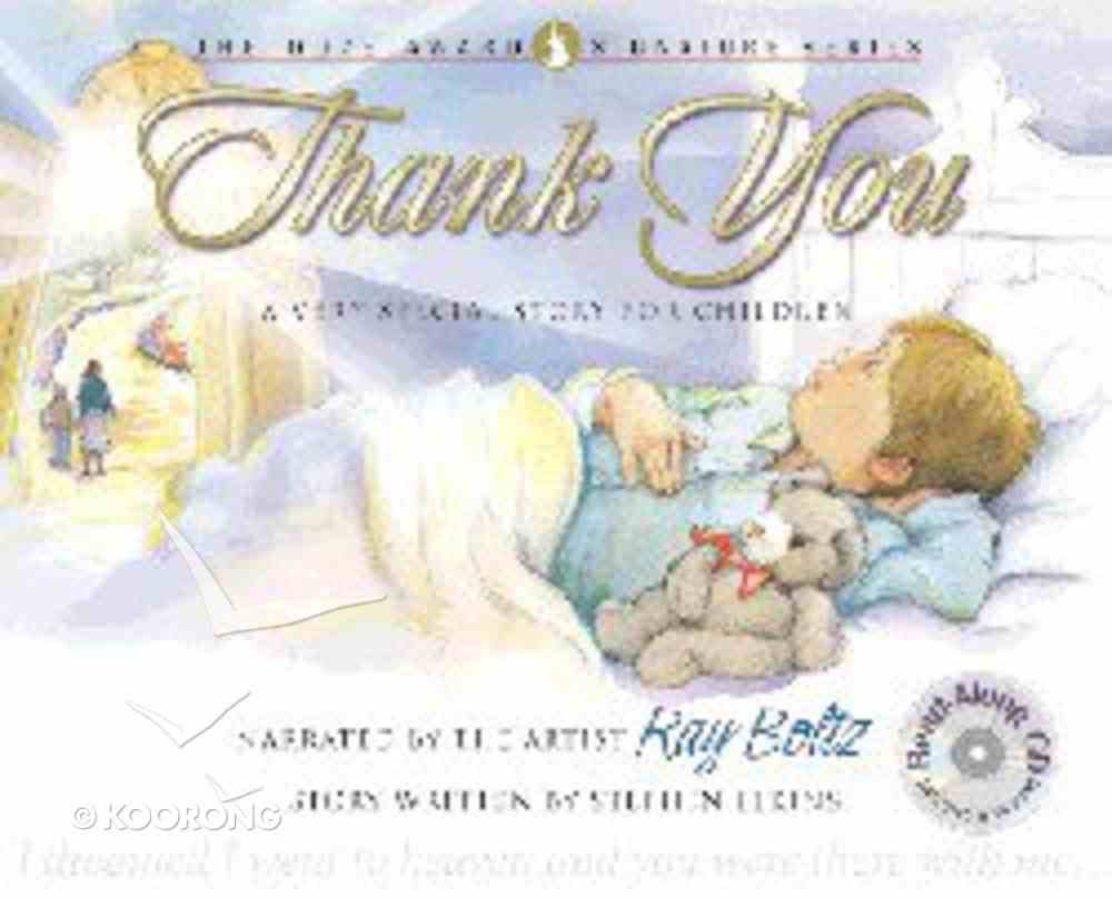 Thank You (With CD) (Dove Award Signature Series For Children) Hardback