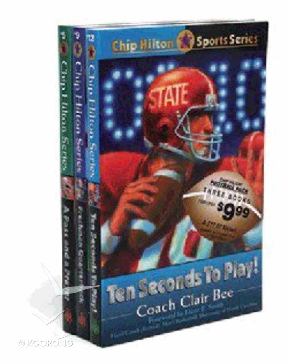 Chip Hilton Football Pack (Chip Hilton Sports Series) Paperback