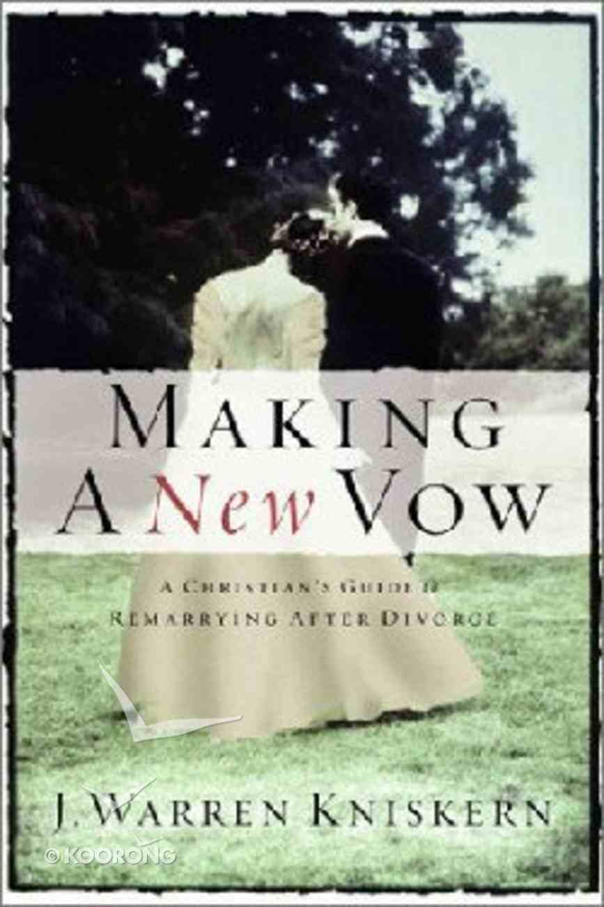 Making a New Vow Paperback