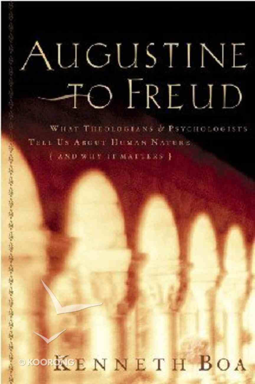 Augustine to Freud Paperback