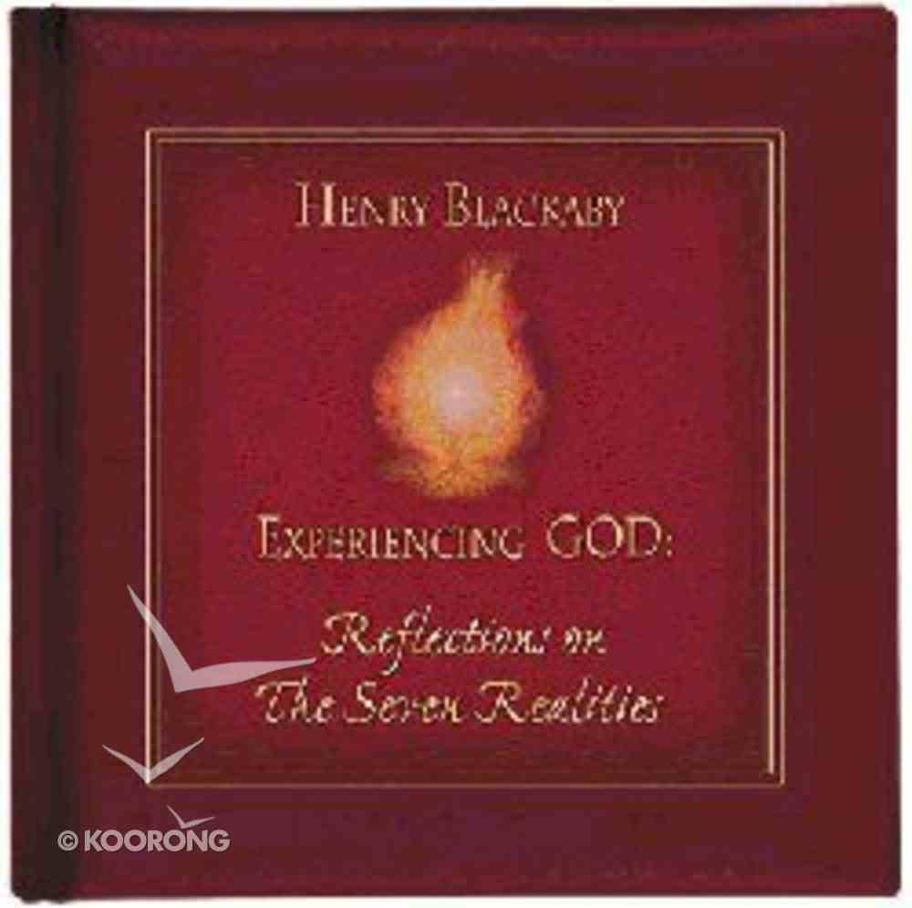 Reflections on the Seven Realities of Experiencing God Hardback
