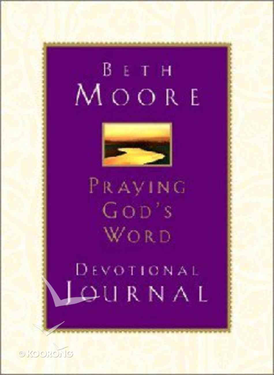 Praying God's Word (Devotional Journal) Hardback