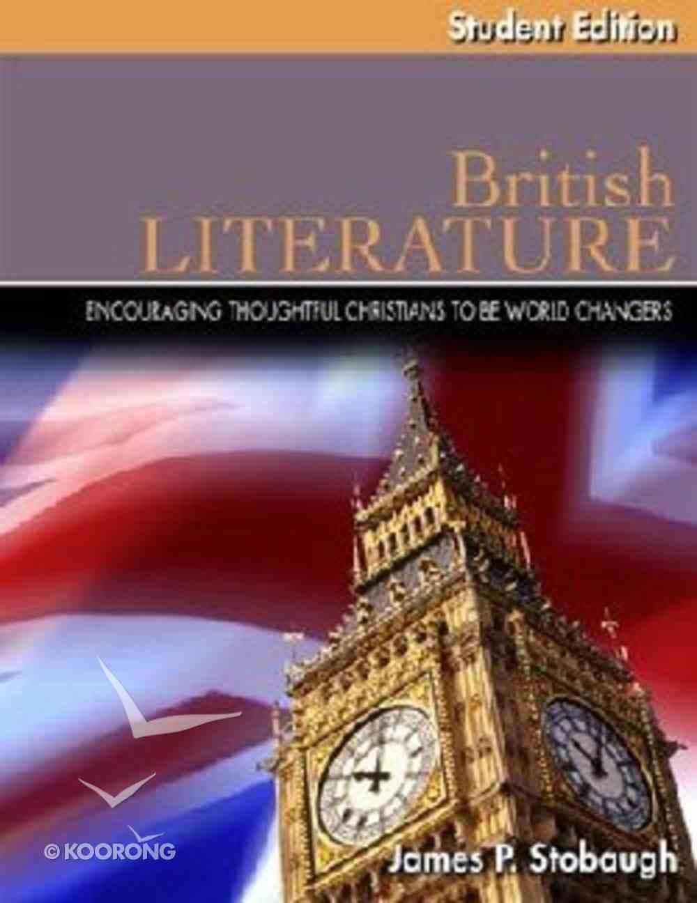 British Literature Student Edition (Senior High Level) Paperback