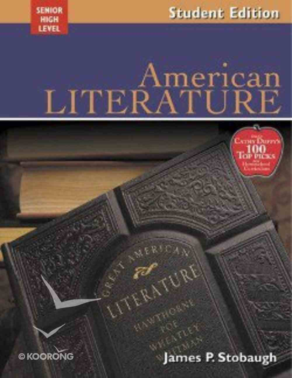 American Literature Student Edition (Senior High Level) Paperback