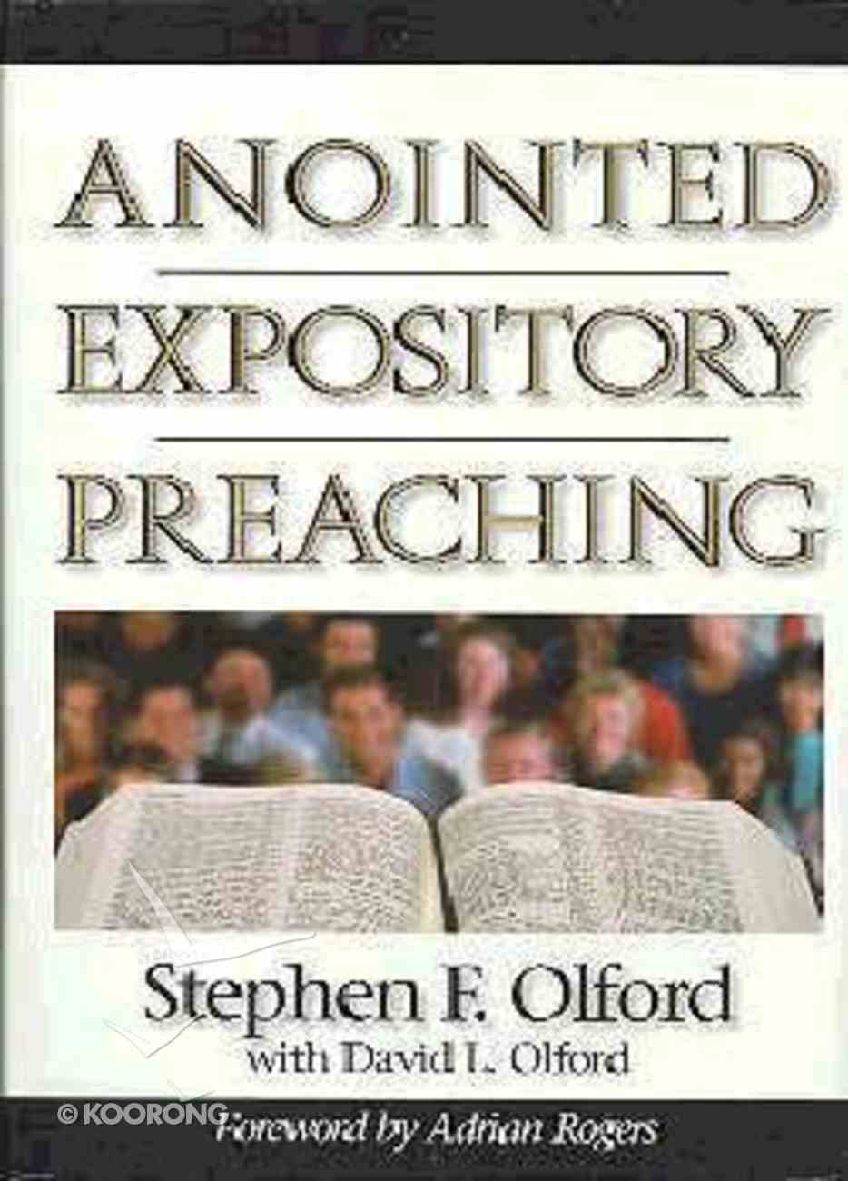 Anointed Expository Preaching Hardback