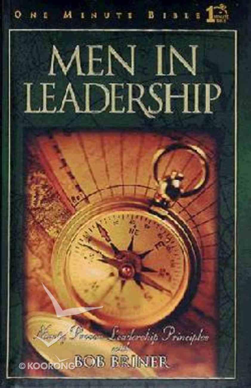 Men in Leadership (One Minute Bible Series) Hardback