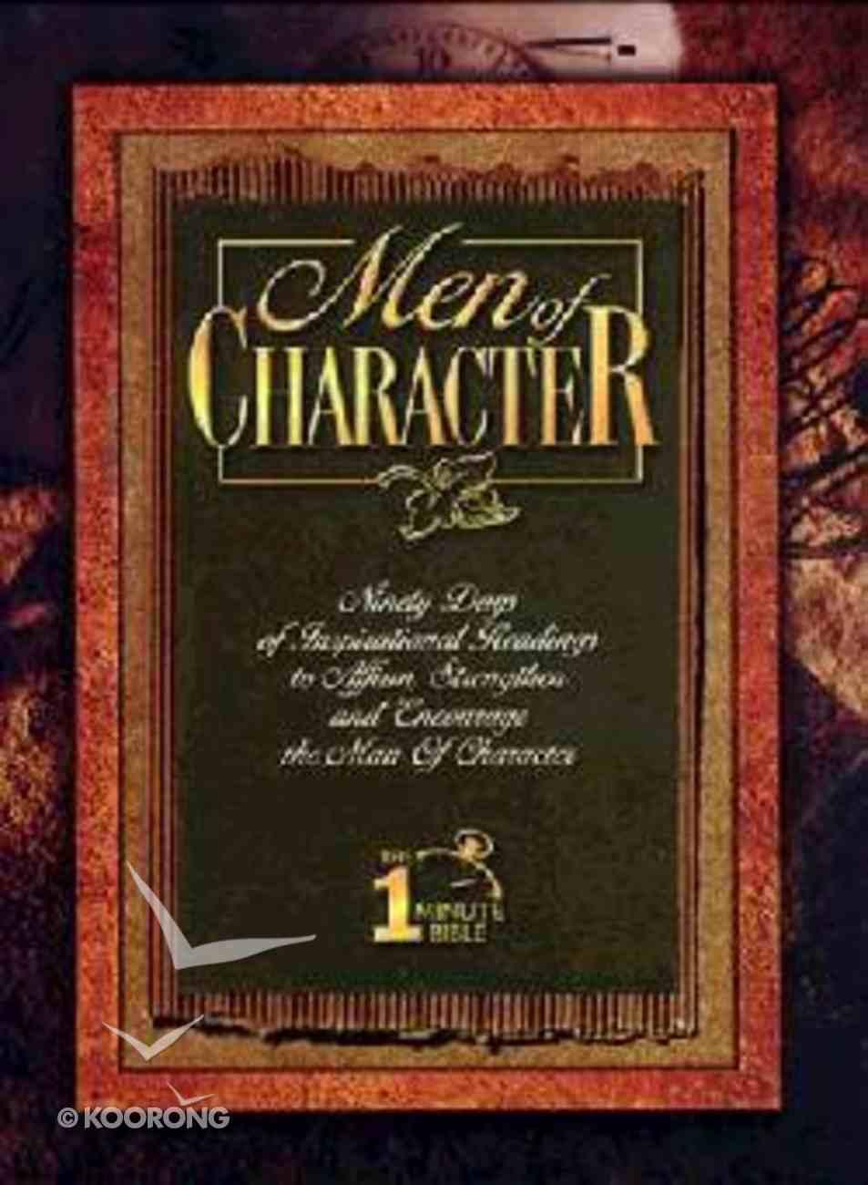 Men of Character-Devotional Paperback
