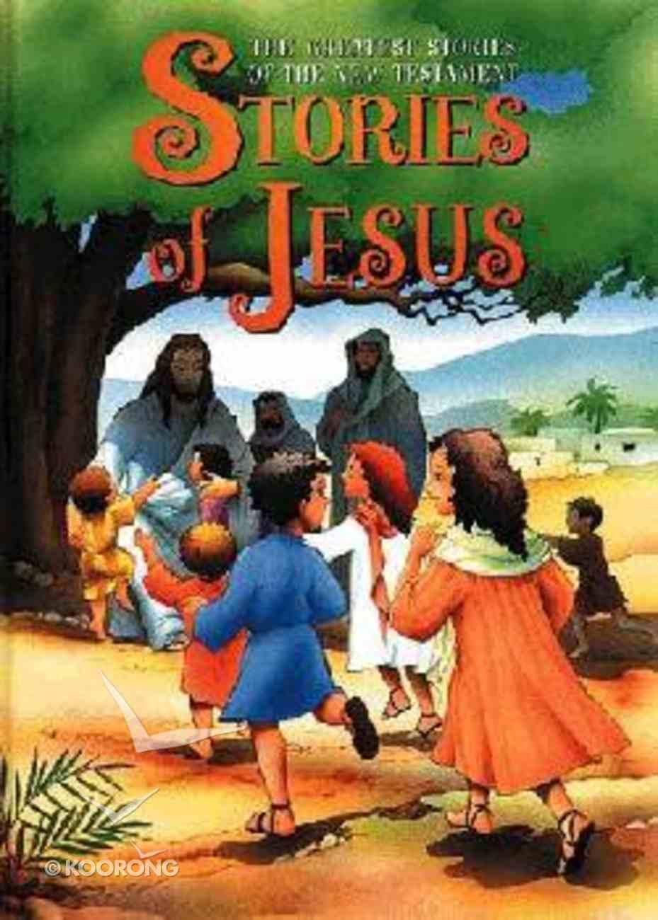 Stories of Jesus Hardback