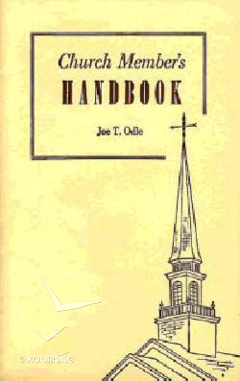 Church Member's Handbook Paperback