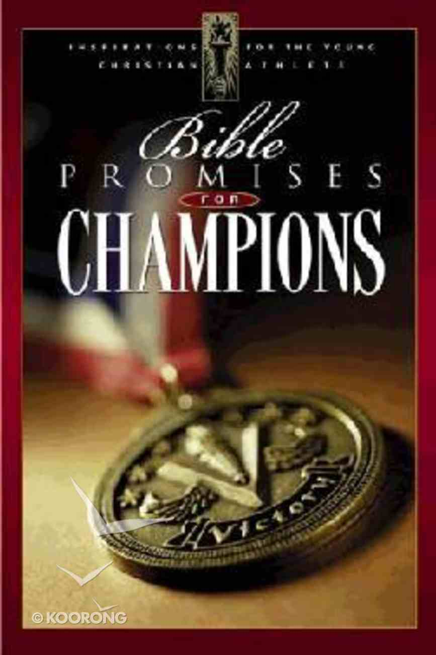 Bible Promises For Champions Paperback