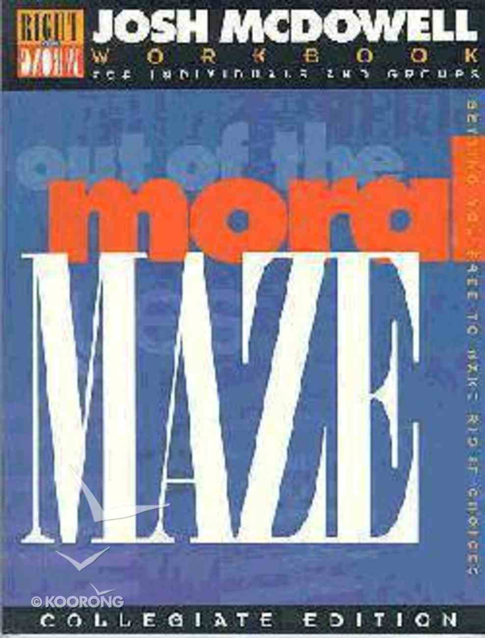 Out of the Moral Maze Paperback