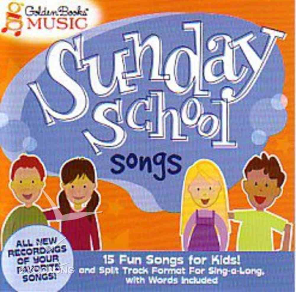 Sunday School Songs CD