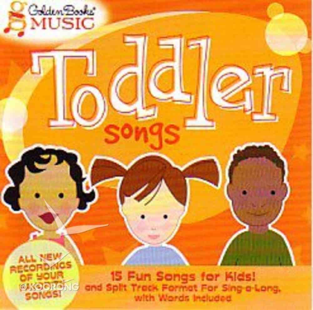 Toddler Songs CD
