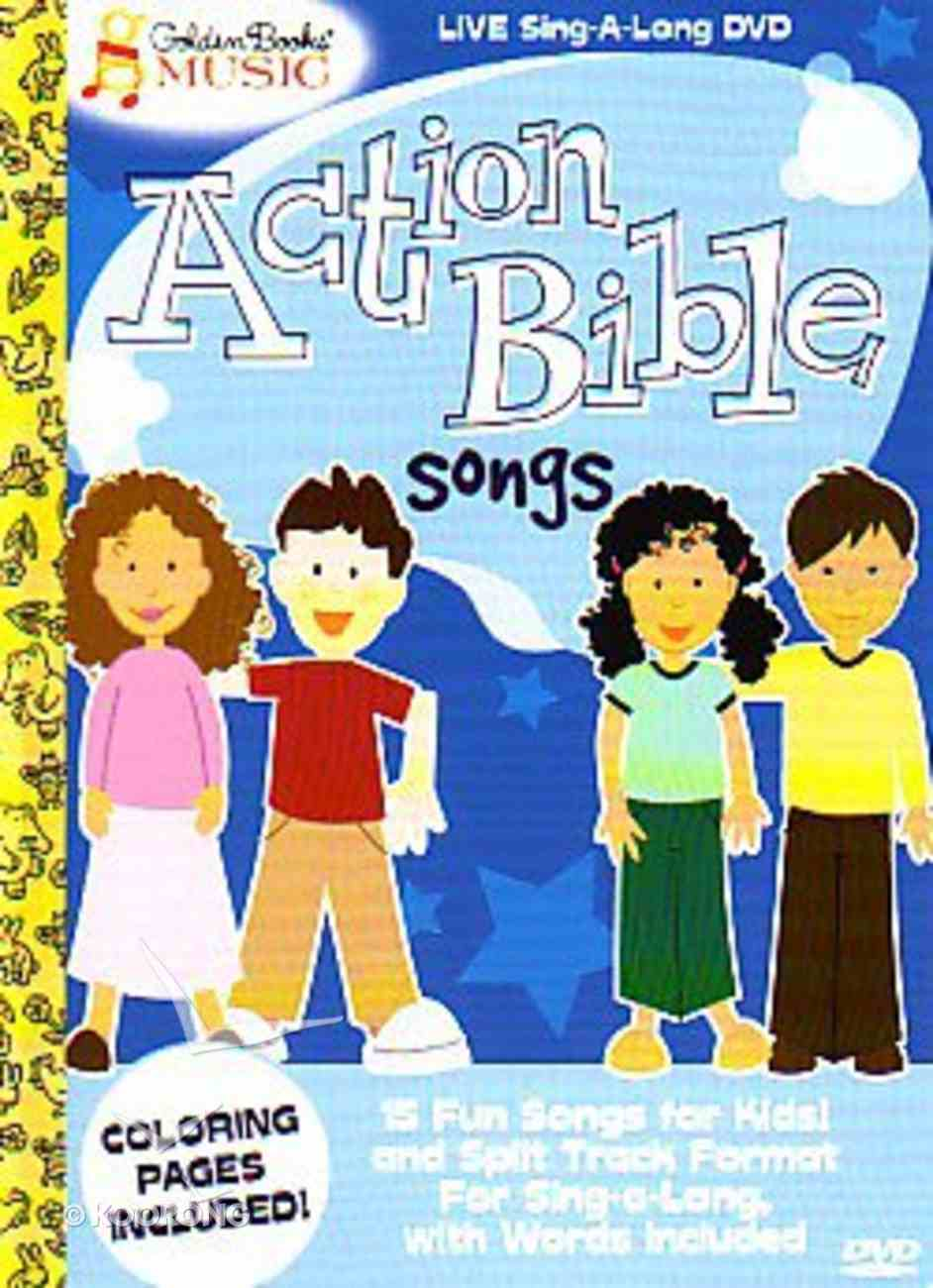 Action Bible Songs DVD